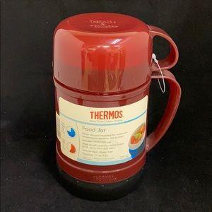 Thermos Food Jar - NWT - Red